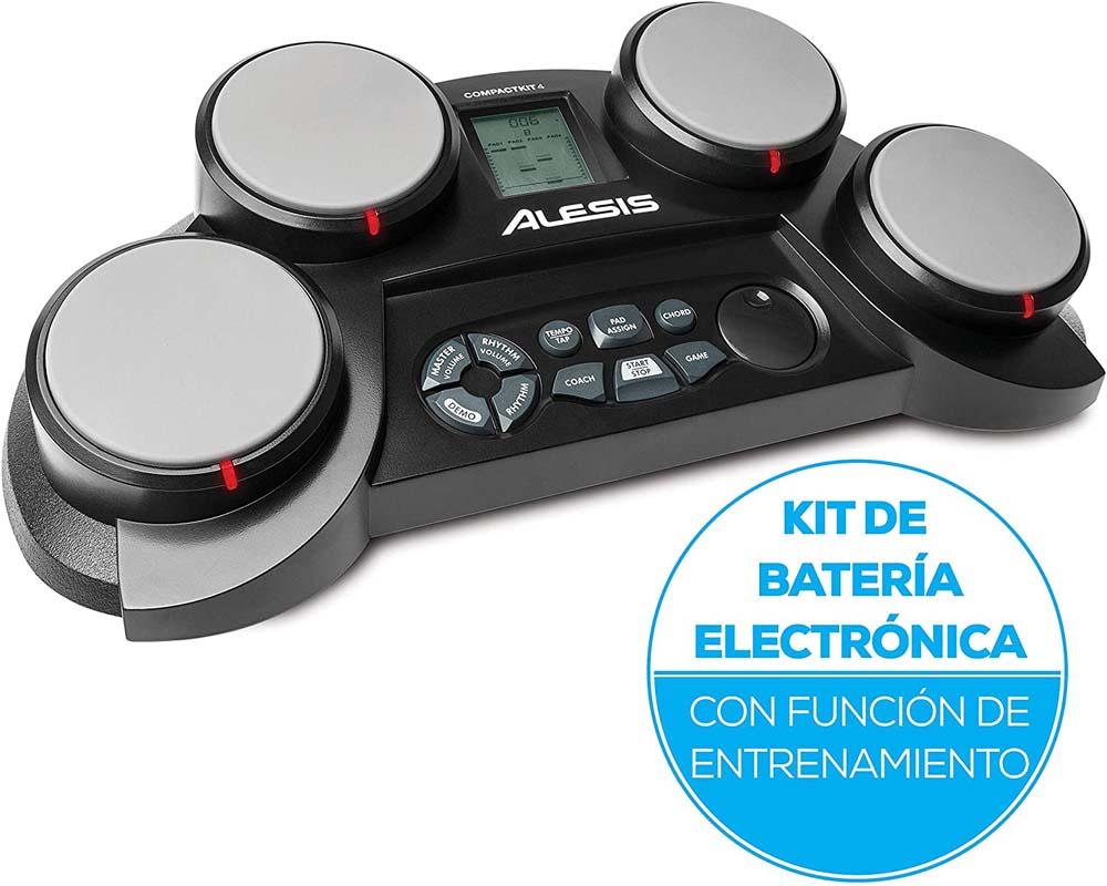Batería electrónica para niños Alesis CompactKit 4