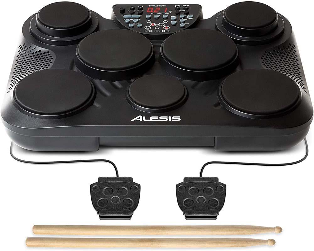 Batería electrónica para niños Alesis CompactKit 7