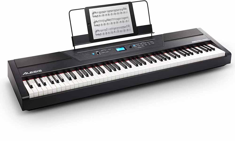 Piano digital Alesis Recital Pro