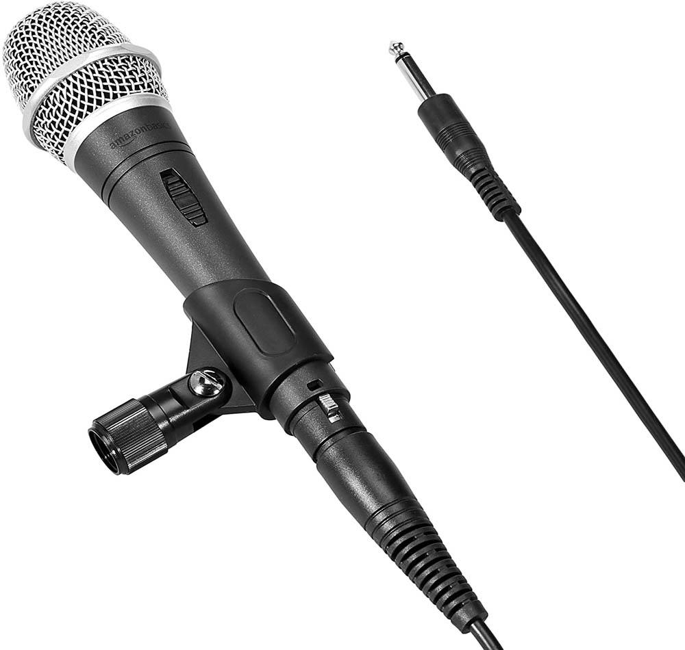 Micrófono dinámico AmazonBasic LJ-DVM-002