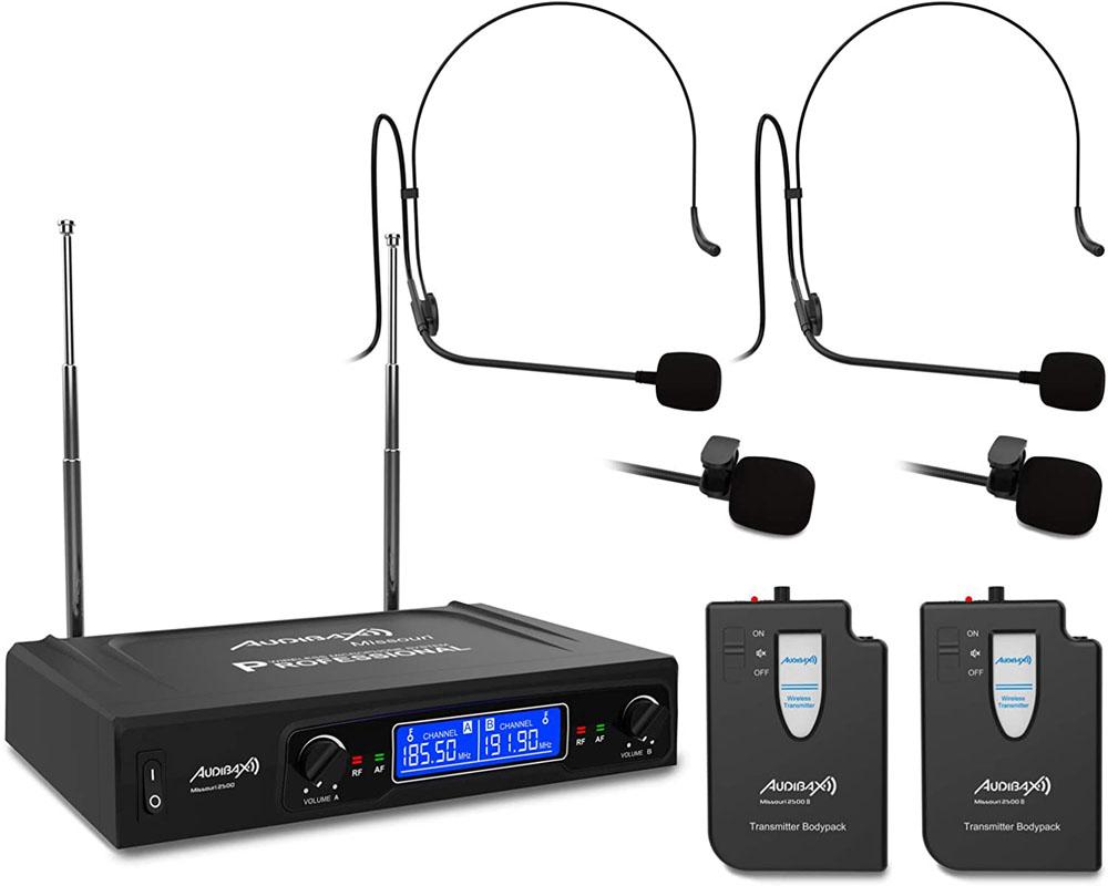 Micrófono de diadema Audibax MISSOURI 2500-1