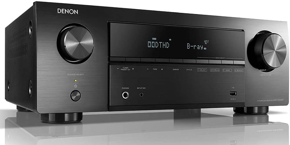 Amplificador de sonido DENON AVR-X550BT