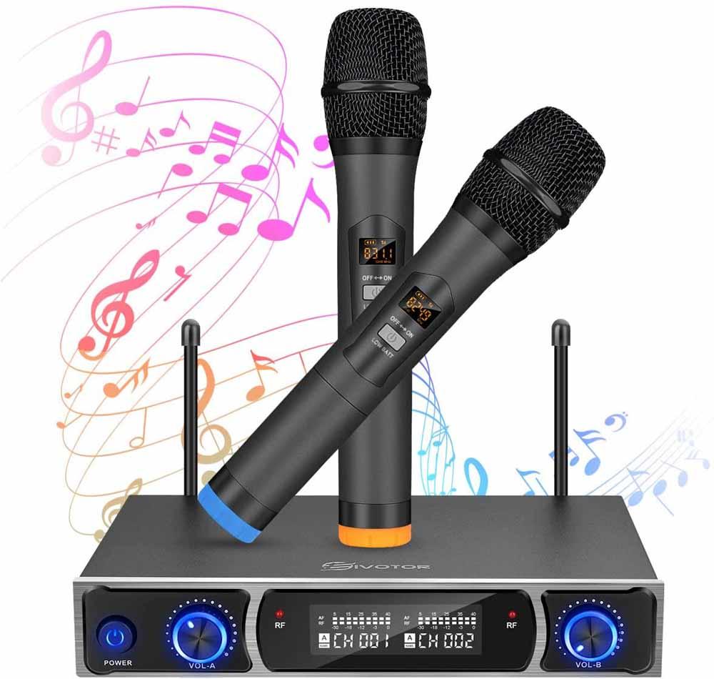 Micrófono para karaoke EIVOTOR