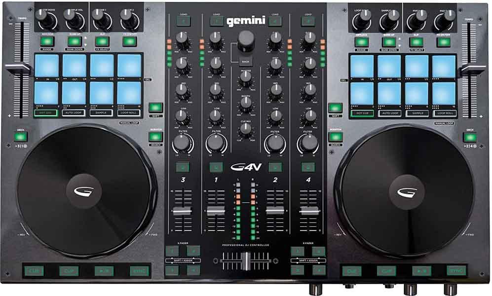 Controlador para DJ Gemini G4V