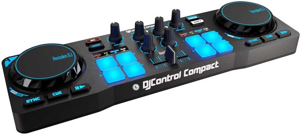 Controlador para DJ Hercules Compact