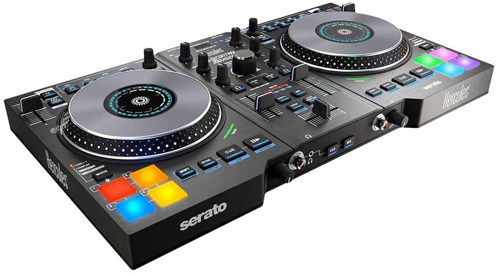 Controlador para DJ Hercules Control Jogvision