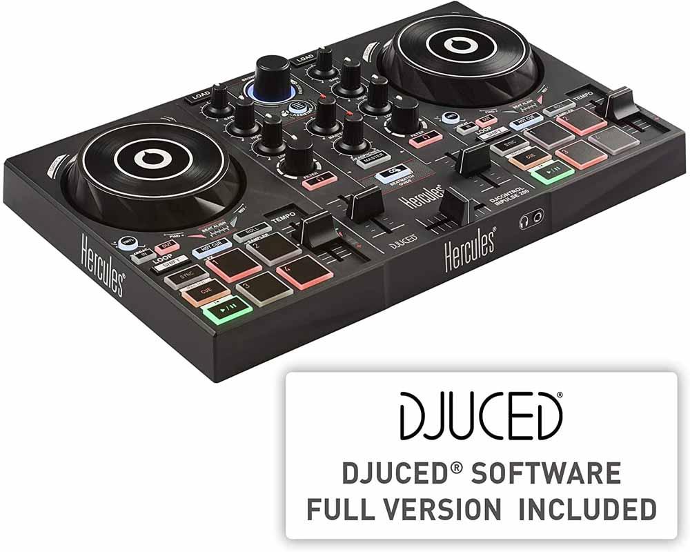 Controlador para DJ Hercules Inpulse 200