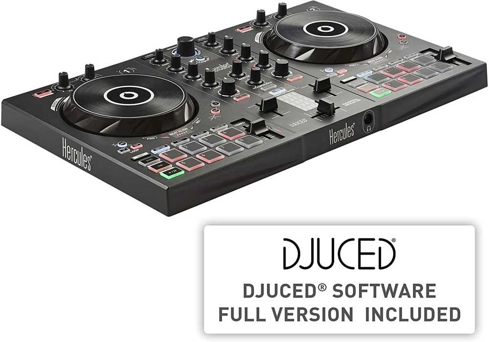 Controlador para DJ Hercules Inpulse 300