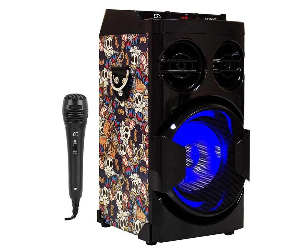 Altavoces para karaoke Music Life 16
