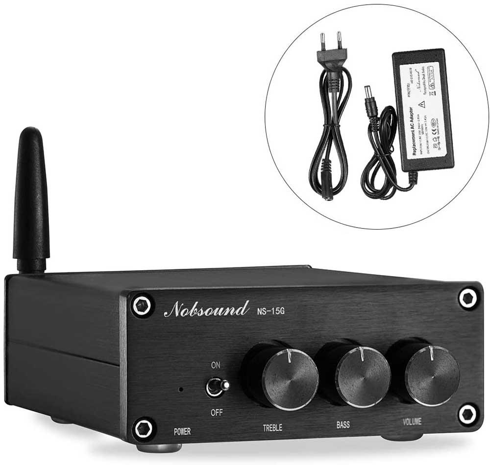 Amplificador de sonido Nobsound Mini TPA3116