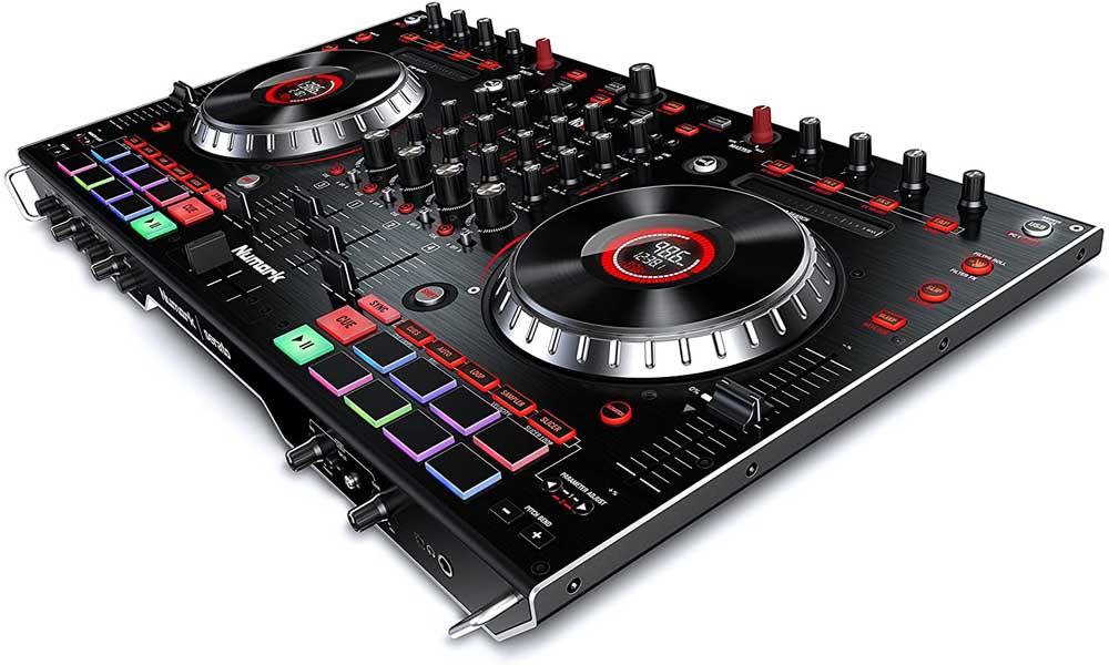 Controlador para DJ Numark NS6II