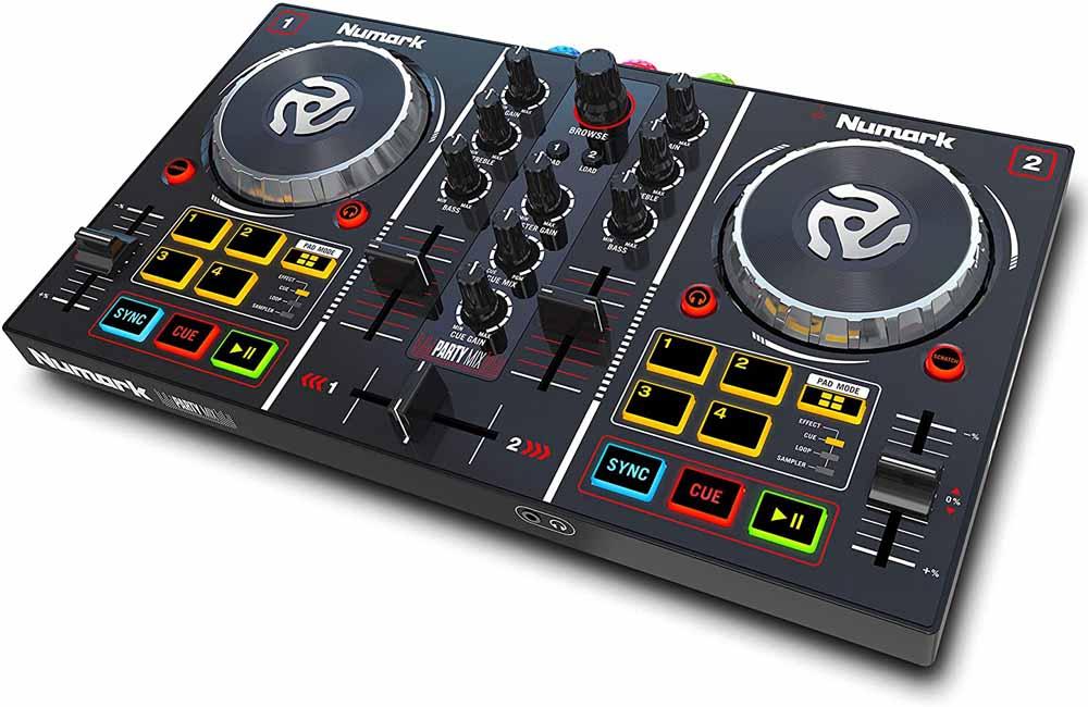 Controlador para DJ Numark Party Mix