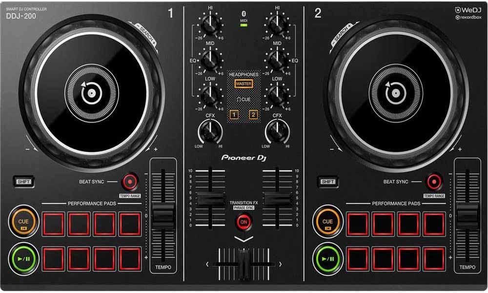 Controlador para DJ Pioneer DDJ-200