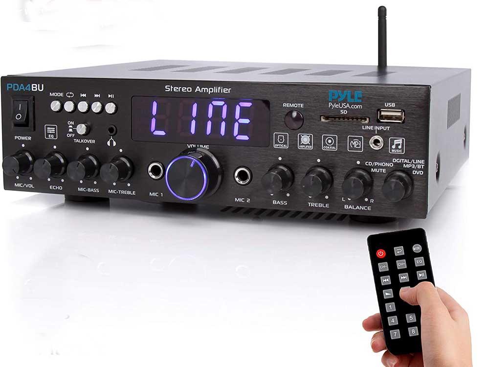 Amplificador de sonido Pyle PDA4BU