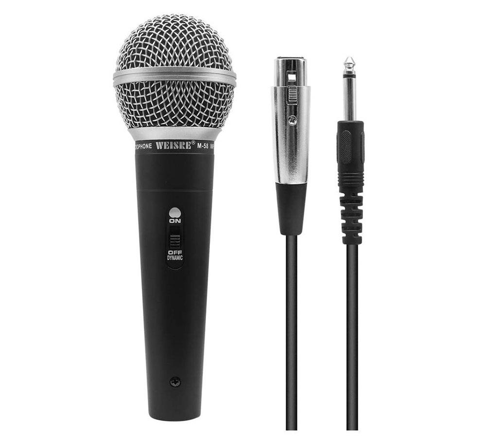 Micrófono dinámico QiCheng&LYS M58