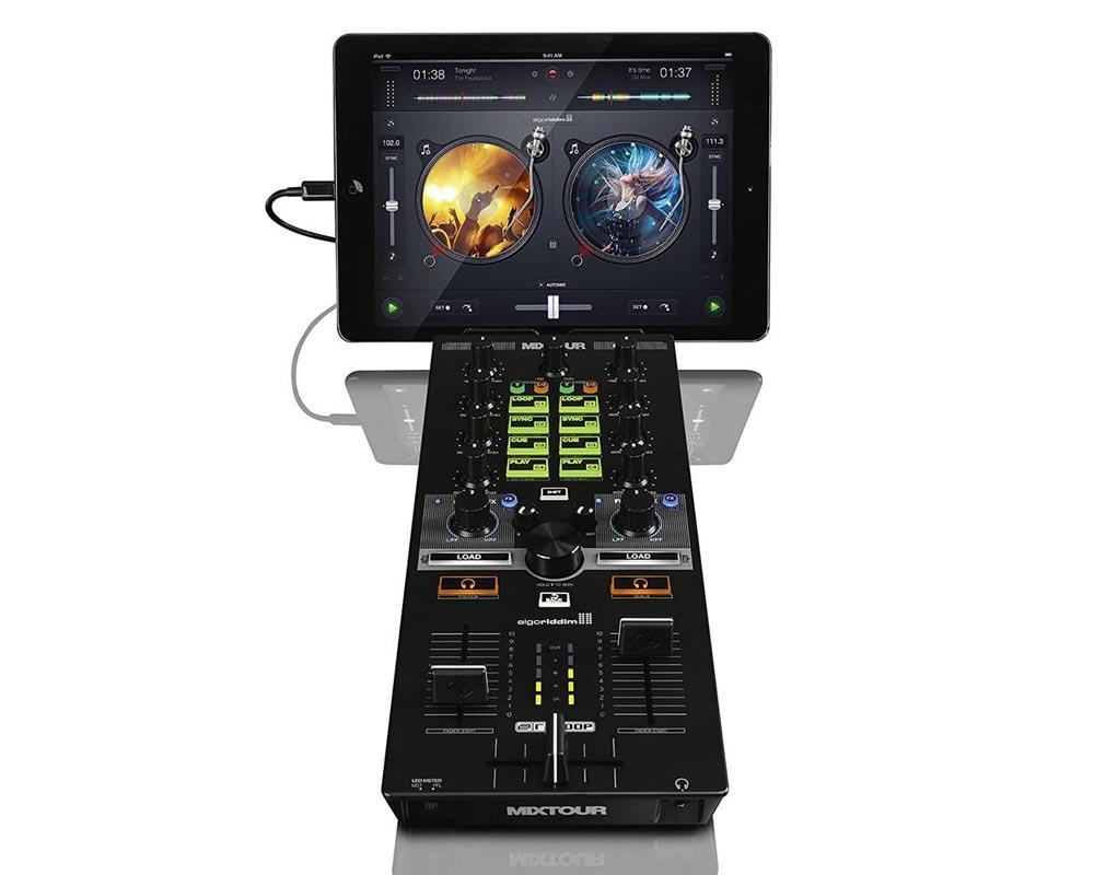 Controlador para DJ Reloop Mixtour