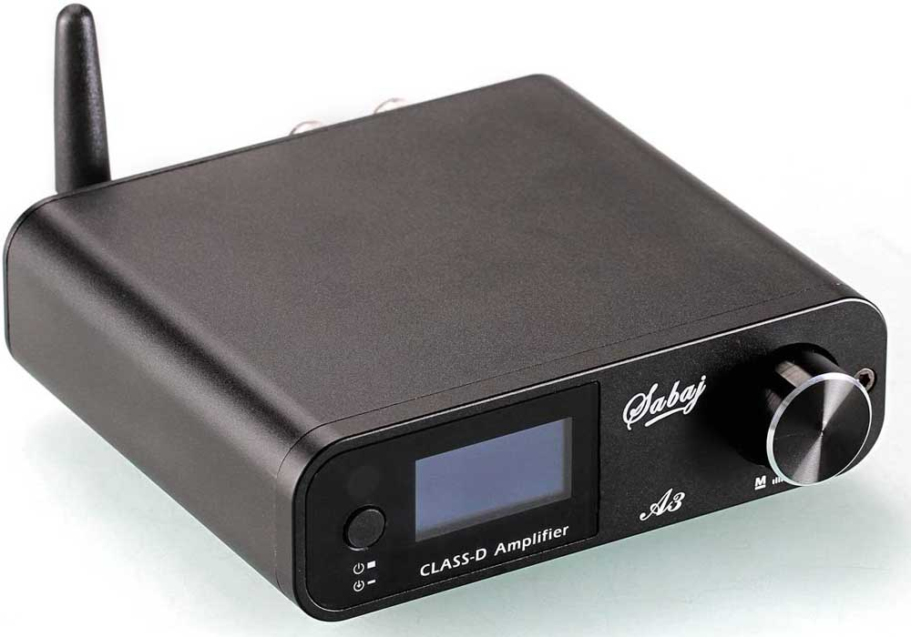 Amplificador de sonido Sabaj A3