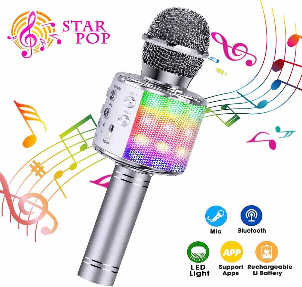 Micrófono para karaoke ShinePick