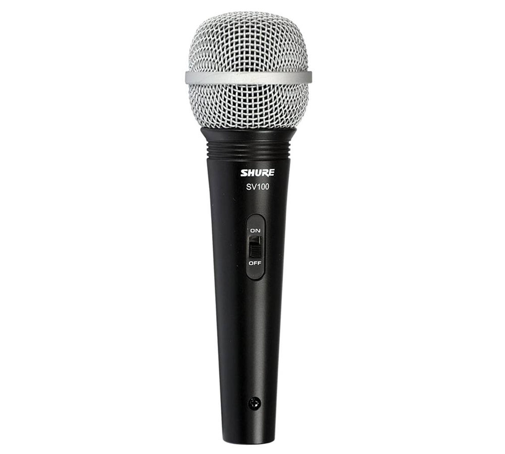 Micrófono dinámico Shure SV100-W